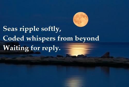 Moon over Water Haiku